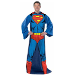 SUPERMAN Adult Snuggie