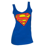 SUPERMAN Logo Blue Women's Tank Top