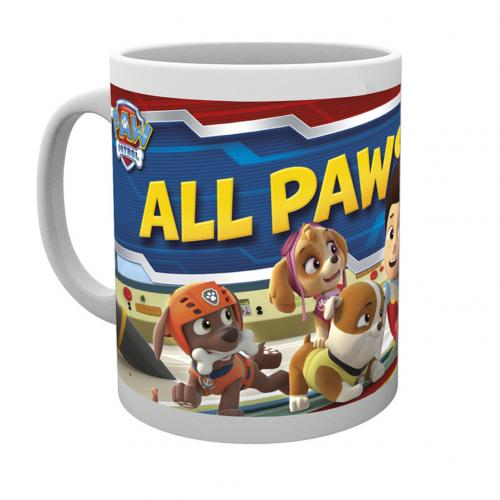 Paw Patrol Mug On Deck