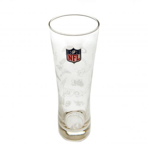 NFL Tall Beer Glass