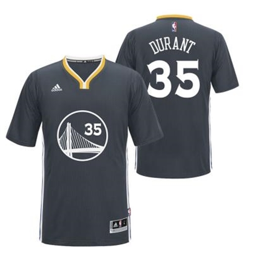 Men's Golden State Warriors Kevin Durant Adidas Slate New