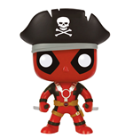 Deadpool POP! Marvel Vinyl Figure Pirate Deadpool 9 cm