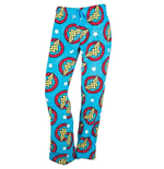 DC Comics Wonder Woman All Over Print Plush Lounge Pants