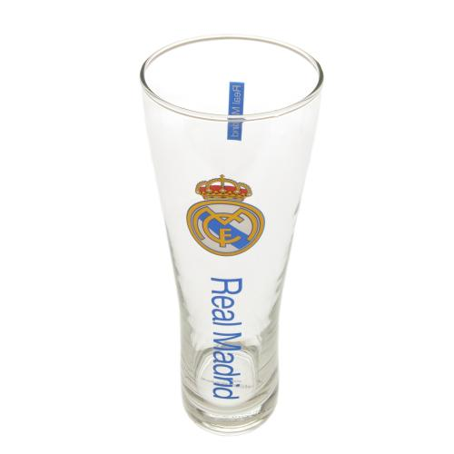 Real Madrid F.C. Tall Beer Glass