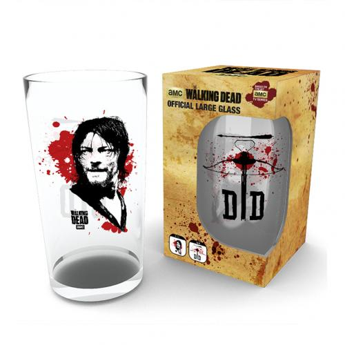 The Walking Dead Large Glass