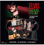 Vynil Elvis Presley - Live In The 50's - The Complete Tour Recordings (2 Lp +24 Page Gatefold)