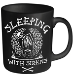 Sleeping With Sirens Mug Skeleton