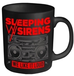 Sleeping With Sirens Mug We Like It Loud