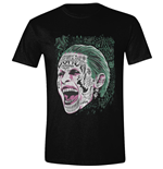 Suicide Squad T-shirt Joker Screaming Black