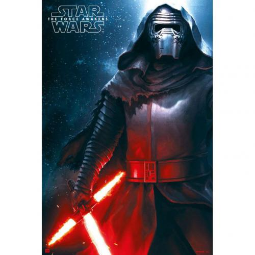 Star Wars The Force Awakens Poster Kylo Ren 206