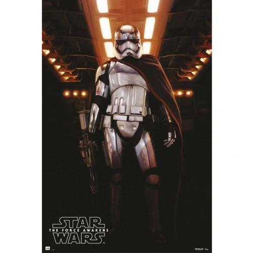 Star Wars The Force Awakens Poster Captain Phasma 204