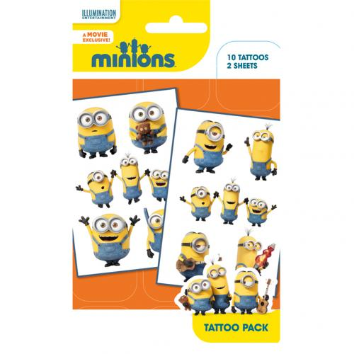 Minions Tattoo Pack