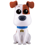 Secret Life of Pets POP! Movies Vinyl Figure Max (Flocked) 9 cm