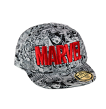 Marvel Comics New Era Cap Red Logo