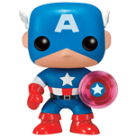 Marvel Comics POP! Marvel Vinyl Figure Captain America Photon Shield 75th Anniversary Limited 9 cm