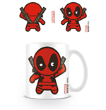 Marvel Comics Mug Kawaii Deadpool