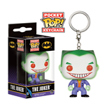 DC Comics Pocket POP! Vinyl Keychain The Joker Glow in the Dark 4 cm