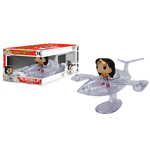 DC Comics POP! Rides Vinyl Vehicle with Figure Invisible Jet & Wonder Woman 12 cm