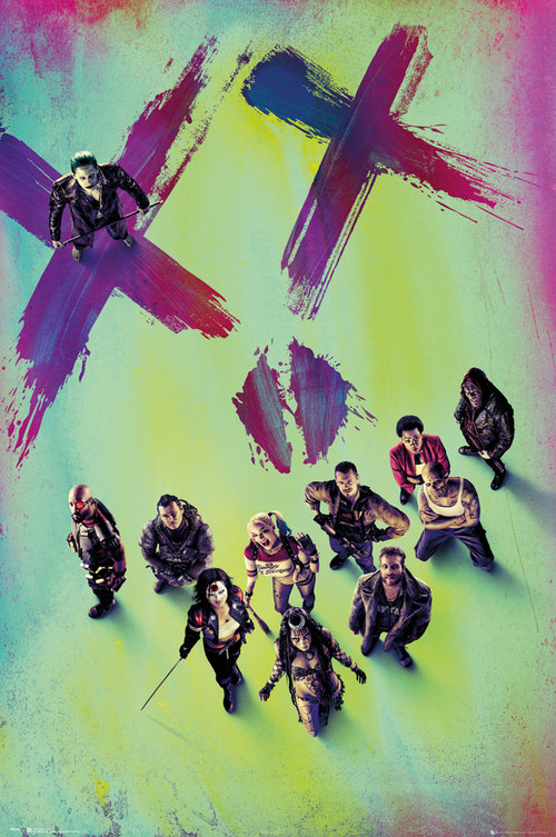 Suicide Squad Stand Maxi Poster