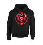 The Rolling Stones Women's Hoodie  - Zip Code 2015 Circle Logo