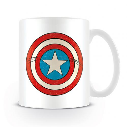 Captain America Mug Shield