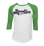 BROOKLYN BREWERY 3/4 Baseball Sleeve Tee Shirt