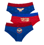WONDER WOMAN 3 Pack Women's Underwear