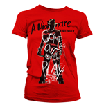 Nightmare on Elm Street Ladies T-Shirt Come Out And Play