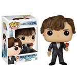 Sherlock POP! TV Vinyl Figure Sherlock with Apple 9 cm