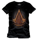 Assassin's Creed T-Shirt Insignia Wood