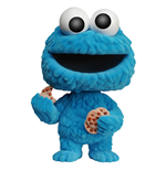 Sesame Street POP! TV Vinyl Figure Cookie Monster (Flocked) 9 cm