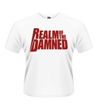 Realm Of The Damned T-shirt Red Logo