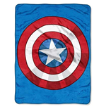 CAPTAIN AMERICA Shield Super Plush Throw Blanket