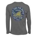 LANDSHARK Let The Fin Begin Long Sleeve Tee Shirt