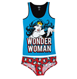 WONDER WOMAN Women's Tank And Underwear Set