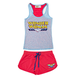 WONDER WOMAN Women's Burnout Tank And Underwear Set