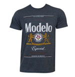 MODELO ESPECIAL Grey Brew City Logo Tee Shirt