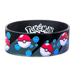 POKEMON Pokeball Rubber Bracelet