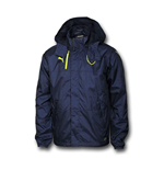 2016-2017 Arsenal Puma Performance Rain Jacket (Peacot)