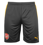 2016-2017 Arsenal Away Football Shorts (Ebony)