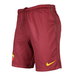 2016-2017 AS Roma Nike Home Shorts (Red)