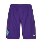 2016-2017 Werder Bremen Nike Away Shorts (Purple)