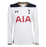 2016-2017 Tottenham Home Long Sleeve Football Shirt