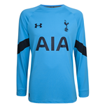 2016-2017 Tottenham Home Goalkeeper Shirt (Capri)