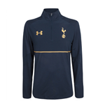 2016-2017 Tottenham Quarter Zip Training Top (Navy)