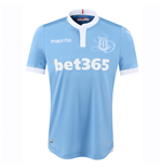 2016-2017 Stoke City Macron Away Football Shirt