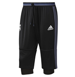 2016-2017 Real Madrid Adidas Three Quarter Length Pants (Black) - Kids