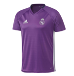 2016-2017 Real Madrid Adidas Training Shirt (Purple)