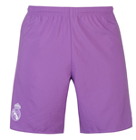 2016-2017 Real Madrid Adidas Away Shorts (Purple)