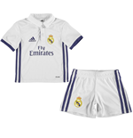 2016-2017 Real Madrid Adidas Home Mini Kit